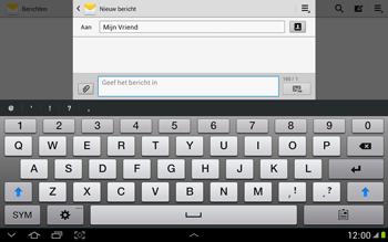 Samsung N8000 Galaxy Note 10-1 - MMS - afbeeldingen verzenden - Stap 8