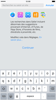 Apple Apple iPhone 6s Plus iOS 9 - Internet - navigation sur Internet - Étape 3