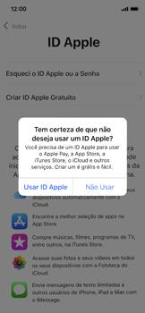 Apple iPhone X - iOS 12 - Primeiros passos - Como ativar seu aparelho - Etapa 17