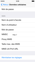 Apple iPhone 5c - MMS - Configuration manuelle - Étape 7