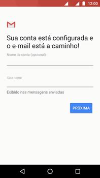 Motorola Moto Z2 Play - Email - Como configurar seu celular para receber e enviar e-mails - Etapa 11