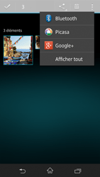 Sony Xpéria Z - Photos, vidéos, musique - Envoyer une photo via Bluetooth - Étape 8