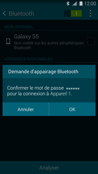 Samsung G900F Galaxy S5 - Bluetooth - connexion Bluetooth - Étape 9