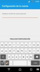 Sony Xperia M5 (E5603) - E-mail - Configurar Outlook.com - Paso 12