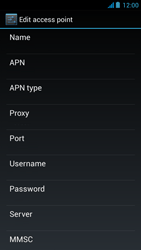 Acer Liquid E2 - Mms - Manual configuration - Step 13