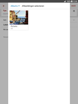 Samsung Galaxy Tab A 9.7 (SM-T555) - E-mail - Hoe te versturen - Stap 15