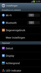 Samsung I9300 Galaxy S III - Internet - Mobiele data uitschakelen - Stap 4