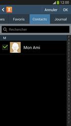 Samsung Galaxy S4 - Contact, Appels, SMS/MMS - Envoyer un SMS - Étape 8