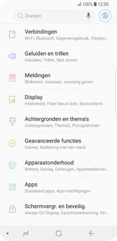Samsung Galaxy S9 - Internet - Mobiele data uitschakelen - Stap 4