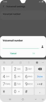 Samsung Galaxy A70 - Voicemail - Manual configuration - Step 9