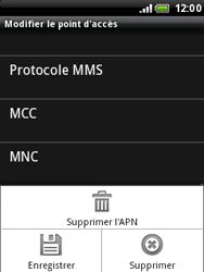 HTC A3333 Wildfire - Internet - configuration manuelle - Étape 12