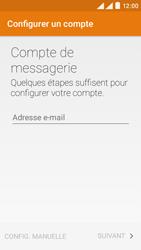 Wiko Rainbow Lite 4G - E-mails - Ajouter ou modifier un compte e-mail - Étape 4