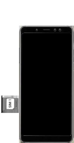 Samsung galaxy-a8-2018-sm-a530f-android-pie - Instellingen aanpassen - SIM-Kaart plaatsen - Stap 5