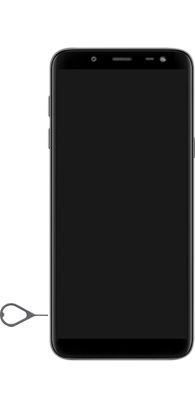 Samsung Galaxy J6 - Primeiros passos - Como inserir o chip da Nextel no seu celular - Etapa 6