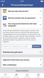 Apple iPhone 6 met iOS 9 (Model A1586) - Privacy - Privacy instellingen van Facebook aanpassen - Stap 27