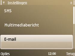 Nokia E72 - E-mail - Handmatig instellen - Stap 30