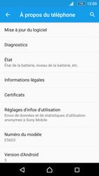 Sony Xperia M5 - Réseau - Installation de mises à jour - Étape 6