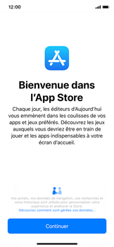 Apple iPhone XS - iOS 12 - Applications - Télécharger une application - Étape 3