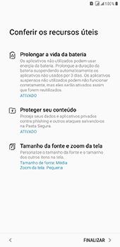 Samsung Galaxy J8 - Primeiros passos - Como ativar seu aparelho - Etapa 20