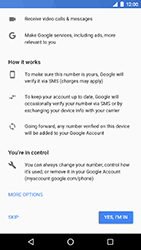 LG Nexus 5X - Android Oreo - Applications - Create an account - Step 13