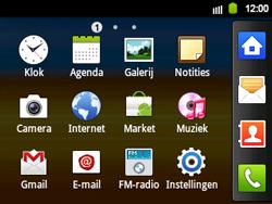 Samsung B5510 Galaxy TXT - Internet - aan- of uitzetten - Stap 3