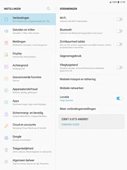Samsung Galaxy Tab S2 9.7 (T815) - Android Nougat - Internet - Uitzetten - Stap 5