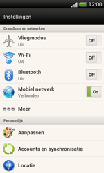 HTC C525u One SV - Wifi - handmatig instellen - Stap 4