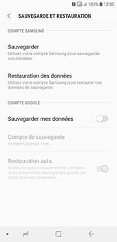 Samsung Galaxy A6 - Données - créer une sauvegarde avec votre compte - Étape 6