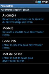 Samsung Galaxy Ace - Sécuriser votre mobile - Activer le code de verrouillage - Étape 6
