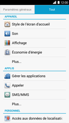 Huawei Ascend G6 - Messagerie vocale - Configuration manuelle - Étape 4