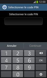 Samsung Galaxy Ace 3 - Sécuriser votre mobile - Activer le code de verrouillage - Étape 8