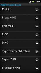 Sony MT27i Xperia Sola - MMS - Configuration manuelle - Étape 13