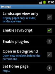 Samsung S5360 Galaxy Y - Internet - Manual configuration - Step 14