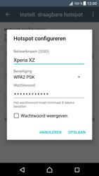 Sony Xperia XZ - Android Nougat - WiFi - Mobiele hotspot instellen - Stap 9
