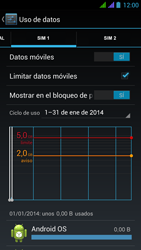 BQ Aquaris 5 HD - Internet - Ver uso de datos - Paso 11