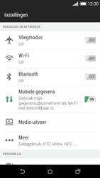 HTC Desire 610 - Internet - Aan- of uitzetten - Stap 4