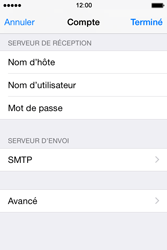 Apple iPhone 4s iOS 8 - E-mail - Configuration manuelle - Étape 19