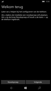 Microsoft Lumia 950 XL - Toestel - Toestel activeren - Stap 8