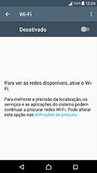 Sony Xperia XA (F3111) - Wi-Fi - Como ligar a uma rede Wi-Fi -  5
