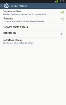 Samsung Galaxy Tab 3 8 4G - Aller plus loin - Désactiver les données à l'étranger - Étape 7