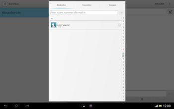 Sony SGP321 Xperia Tablet Z LTE - MMS - afbeeldingen verzenden - Stap 5