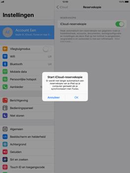 Apple Apple iPad Pro 9.7 - iOS 11 - Device maintenance - Back up - Stap 11