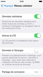 Apple iPhone 5c - Internet et connexion - Activer la 4G - Étape 5