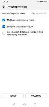 Huawei Mate 20 Pro - E-mail - Handmatig instellen - Stap 19