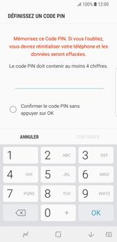 Samsung Galaxy S9 - Sécuriser votre mobile - Activer le code de verrouillage - Étape 7