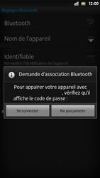 Sony LT26i Xperia S - Bluetooth - connexion Bluetooth - Étape 11