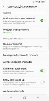 Samsung Galaxy S8 - Chamadas - Como bloquear chamadas de um número -  6
