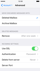 Apple iPhone 5s iOS 9 - E-mail - Manual configuration POP3 with SMTP verification - Step 23