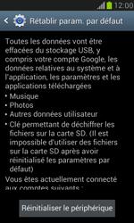Samsung Galaxy S3 Mini - Aller plus loin - Restaurer les paramètres d'usines - Étape 6