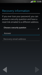 HTC One - Applications - Create an account - Step 12